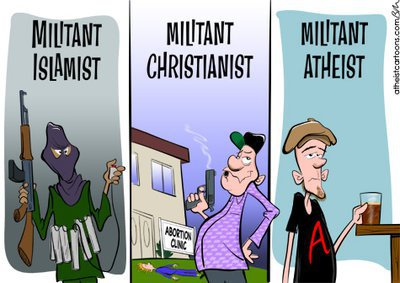 Militant atheist ;)